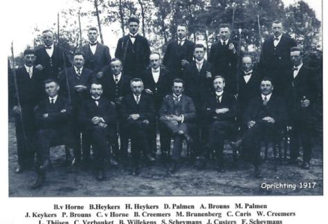 Oprichting 1917